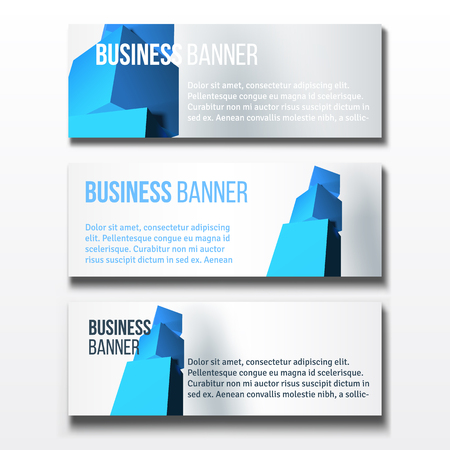 Set of three horizontal business banners templates royalty free set of three horizontal business banners templates stock vector 78851483 wajeb Image collections