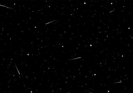 Abstracte achtergrond met sterren als sjabloon of ontwerpelement voor sterrennacht of wetenschap ruimtekaart Vector Illustratie