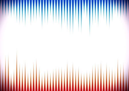 Horizontaler Hintergrund im Retro-Stil mit Schallwellen