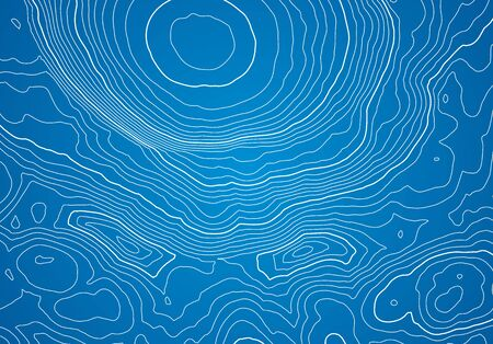 Abstract topographic map background with height lines