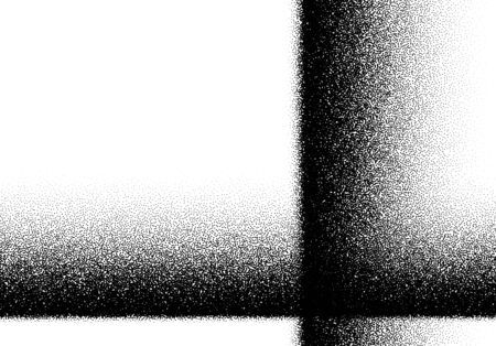 Abstract background with layered noisy gradient of scattered dots Vektoros illusztráció