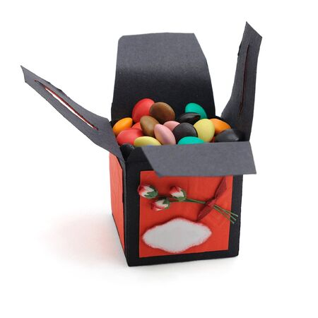 bonbonniere: decorative bonbonniere with sweets in it