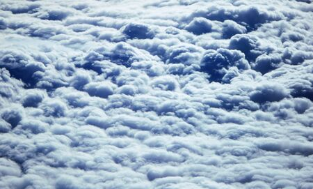 seething: cloudscape with seething clouds
