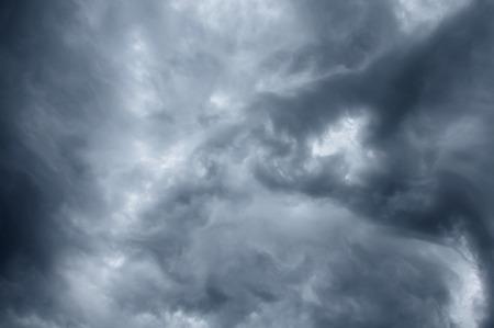 impressive: impressive pattern of clouds before a rain