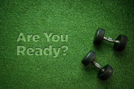 Healthy Concept: Are You Ready? Stock Photo