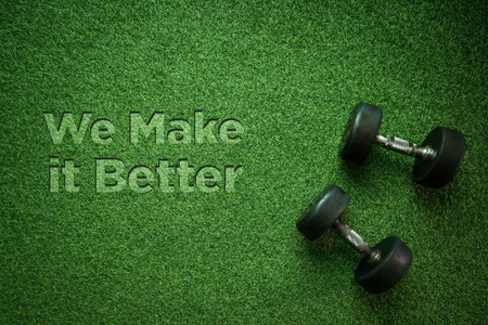 Healthy Concept: We Make it Better Reklamní fotografie