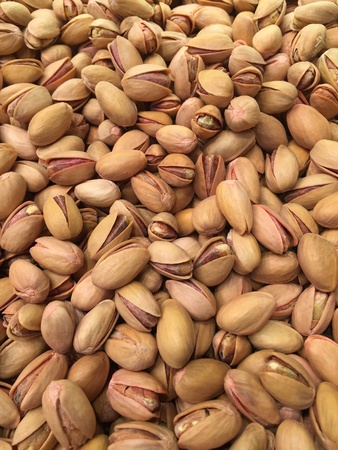 nutshells: A shot of nuts. Stock Photo