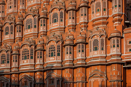 jaipur: A shot of a famous palace in Jaipur India.