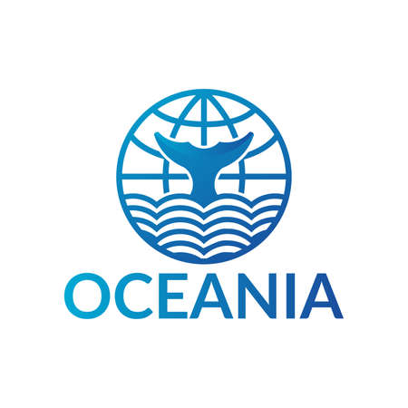 This is a OCEANIA logo concept, you can use