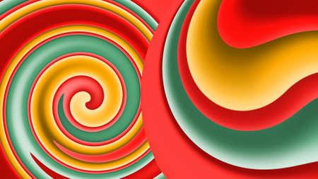 Abstract colorful painting background and texture illustration