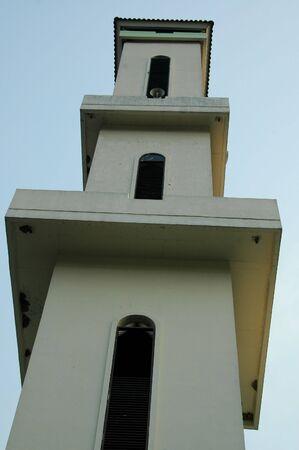 The Mosque Minaret Stock Photo