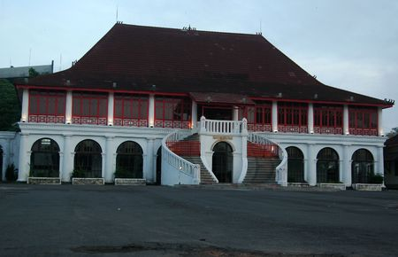 The Sultan Mahmud Badaruddin Museum, Palembang, Indonesia