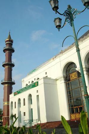 Sultan Mahmud Badaruddin Mosque, Palembang, South Sumatra, Indonesia