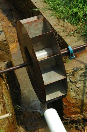 microhydro turbine Stock Photo - 3560104