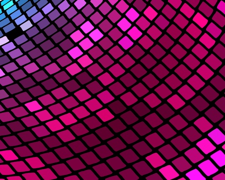 Abstract mosaic background in violet, blue, red and magenta colors Stock Vector - 17016108