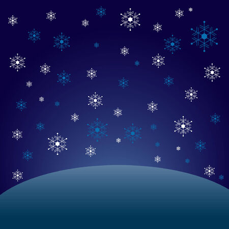 snows: Image where it snows