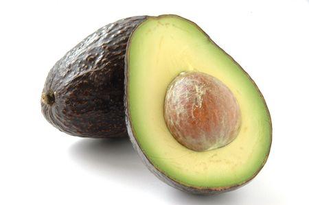 Avocado cut image photo