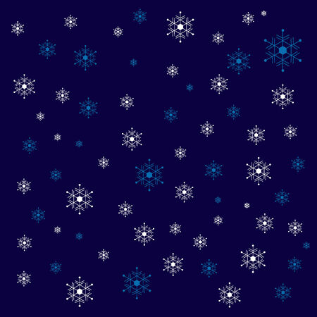 snows: Background of image where it snows Illustration