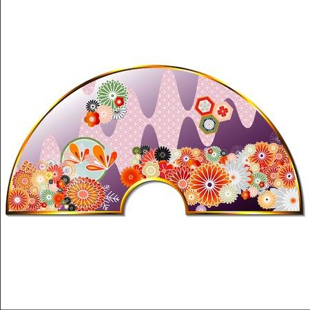asian culture: Modello di cultura giapponese Vettoriali