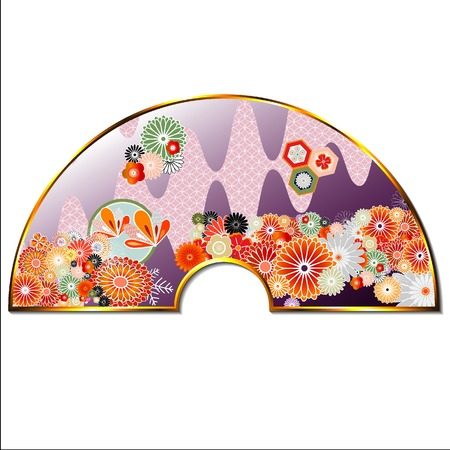 japanese flower: Pattern of Japanese culture