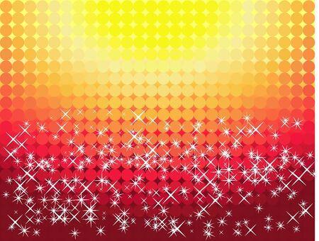 ice slide: Vector christmas background Illustration