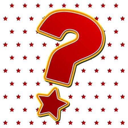 Question mark Stock Vector - 5240402