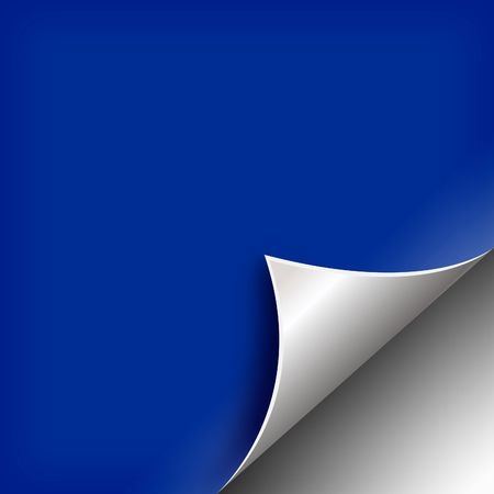 matt: Clip art on curved page