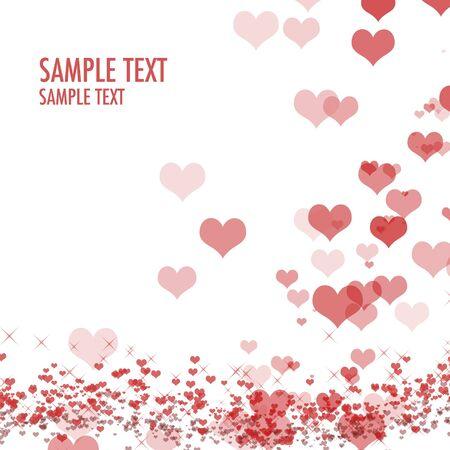 beautiful colorful heart shape background photo