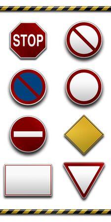 道路交通標識パターンのアイコン - 見てください私のポートフォリオで他の種類が存在します。
