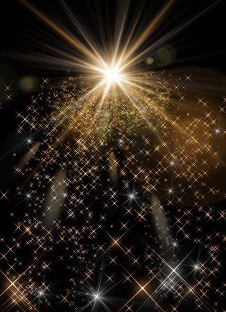 пыль: background of light -Computational graphic - Please look at my portfolio other kinds exist Фото со стока