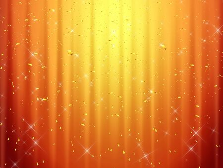 golddust: Abstract background - Computational graphic - Please look at my portfolio other kinds exist Stock Photo