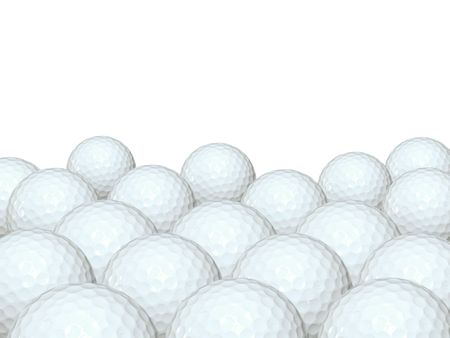 Background of golf ball - Please look at my portfolio other kinds exist 写真素材
