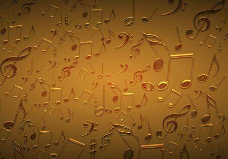 computational: Background of music image - Computational graphic Stock Photo