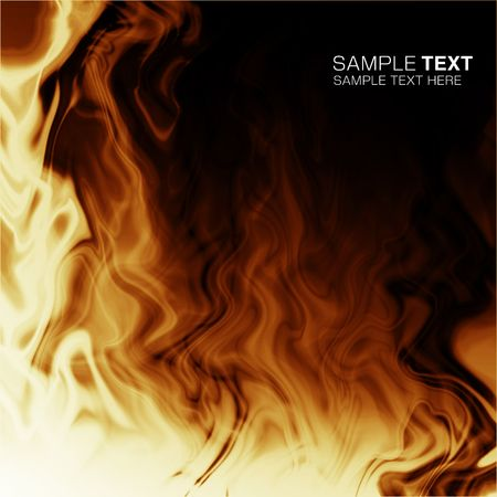 Flame of computational graphic Reklamní fotografie