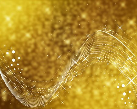 Background abstract gold - Computational graphic 版權商用圖片