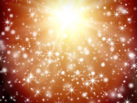 starlike: Shining abstract background image