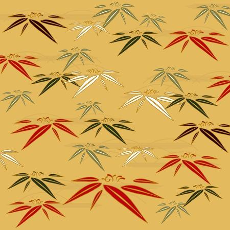 Background illustration of Japanese pattern Stock Vector - 7465271