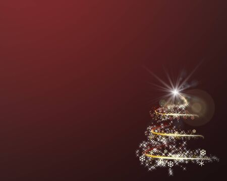 colorfulness: Graphic background of Christmas tree