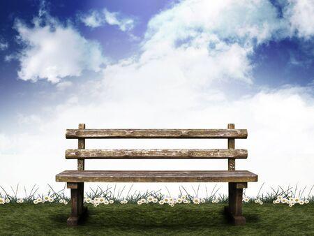 CG synthesis background image photo