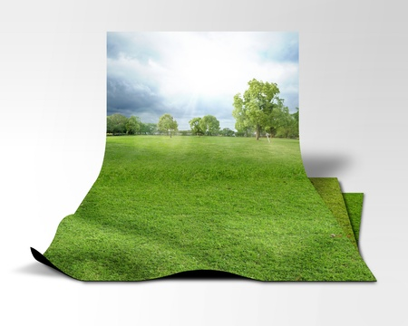 Background image of 3D Stock Photo