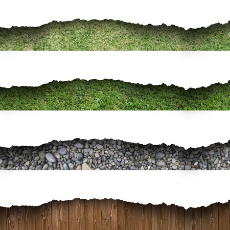 Footer design CG background Stock Photo