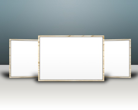 3D image with frame Stock Photo - 8783098