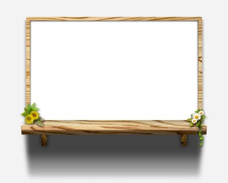 Shelf of 3D image photo