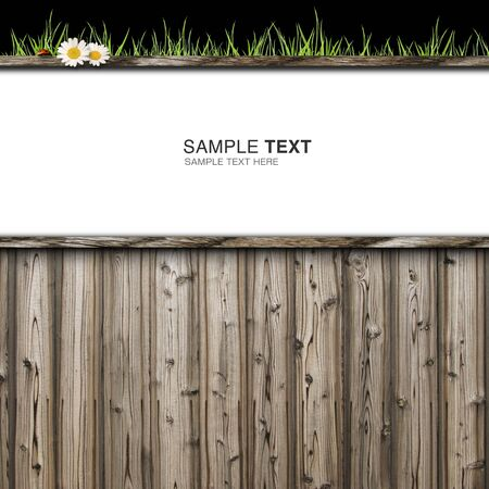 CG synthesis background image of wooden Stock Photo - 8865456