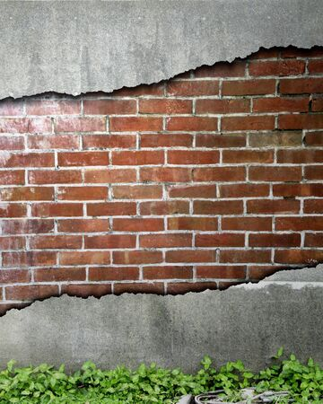 collapsed: Collapsed wall