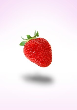 retouch: Retouch background of strawberry