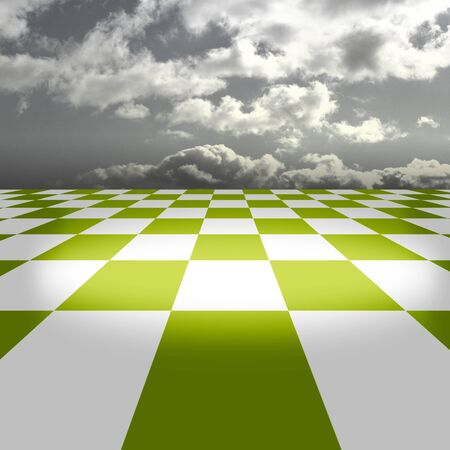 Three-dimensional space image Stock Photo - 9487579