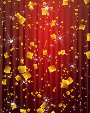 golddust: Abstract background image Stock Photo
