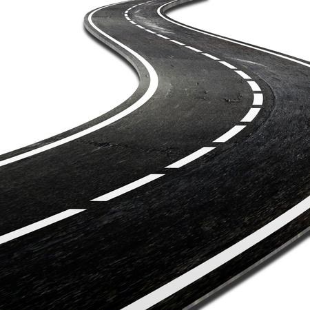 curve road: Winding street
