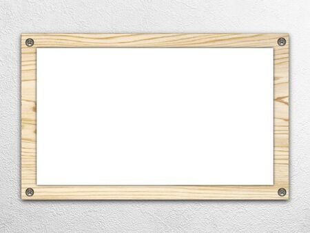 bulletinboard: Wooden whiteboard